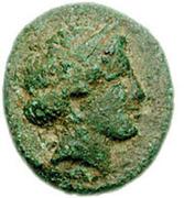Bronze Æ14 (Olophyxos) – avers