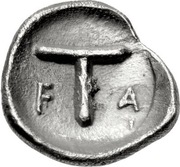 Tetartemorion - 95th Olympiad – revers