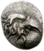 Tetartemorion - 95th Olympiad – avers