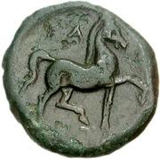 Bronze Æ – revers
