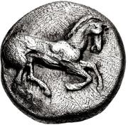 Tetrobol (Olynthos) – avers