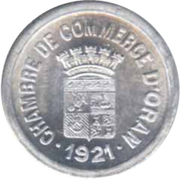 10 centimes (Oran chambre de Commerce) – avers