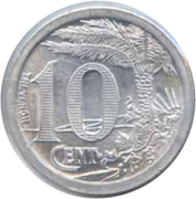10 centimes (Oran chambre de Commerce) – revers