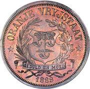 1 penny (État libre d'Orange, essai) – avers