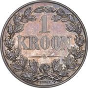 1 kroon (État libre d'Orange, essai) – revers