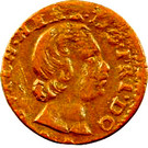 Denier-Tournois Guillaume-Henri de Nassau (Type 4) – avers