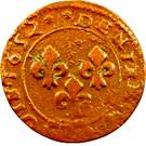 Denier-Tournois Guillaume-Henri de Nassau (Type 4) – revers