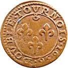 Double-Tournois Frédéric-Henri de Nassau (Type 1) – revers