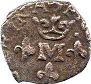 Liard au M couronné - Frédéric-Henri de Nassau – avers