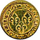 Denier-Tournois Guillaume IX de Nassau (Type 2) – revers