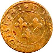 Double-Tournois Frédéric-Henri de Nassau (Type 5) – revers
