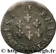 Denier-Tournois Frédéric-Maurice de la tour d'Auvergne (Type 8) – revers
