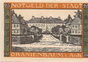 25 Pfennig (Oranienbaum) -  revers