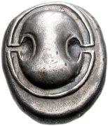 Stater (Orchomenos) – avers