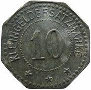 10 Pfennig - Oschersleben – revers