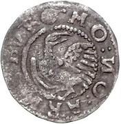 1 schilling Magnus (Arensburg; bouclier à quatre sections) – revers