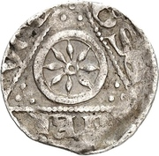 1 Pfennig - Konrad I. von Velber – revers