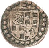 1 Heller - Erich II. von Braunschweig-Grubenhagen – avers