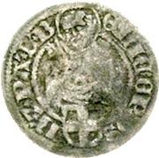 ⅛ Schilling - Erich II. von Braunschweig-Grubenhagen – avers