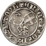 ¼ Schilling - Erich II. von Braunschweig-Grubenhagen – avers