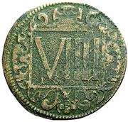 9 Pfennig (Domkapitel) – revers