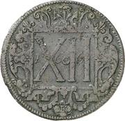 12 Pfennig (Domkapitel) – revers