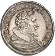 1 Thaler - Franz Wilhelm von Wartenberg – avers