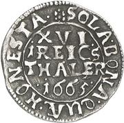1/16 Thaler - Ernst August I. – revers