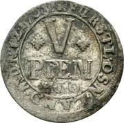 5 Pfennig - Karl von Lothringen – revers