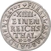 1/14 Thaler - Karl von Lothringen – revers