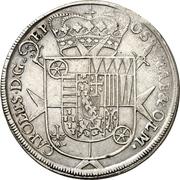 24 Mariengroschen - Karl von Lothringen – avers