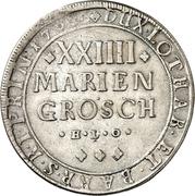 24 Mariengroschen - Karl von Lothringen – revers