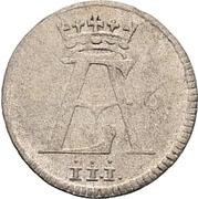 6 Pfennig - Ernst August II. von York – avers