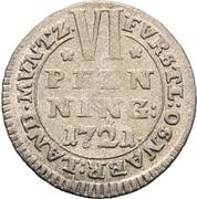 6 Pfennig - Ernst August II. von York – revers