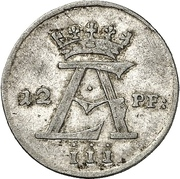 12 Pfennig - Ernst August II. von York – avers
