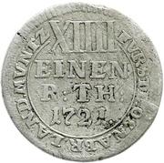 1/14 Thaler - Ernst August II. von York – revers
