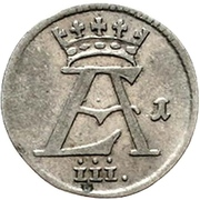 1 Mariengroschen - Ernst August II. von York – avers