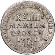 24 Mariengroschen - Ernst August II. von York – revers