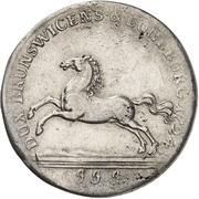 1 Thaler - Ernst August II. von York – revers
