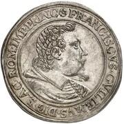 1 thaler Franz Wilhelm de Wartenberg – avers