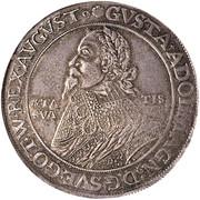 1 Thaler - Gustav II Adolf (occupation suédoise) – avers