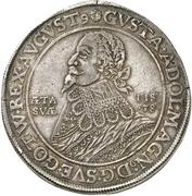 1 Thaler - Gustav II Adolf (Death; Swedish occupation) – avers
