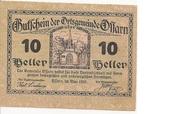 10 Heller (Ossarn) -  avers
