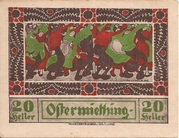 20 Heller (Ostermiething) – avers