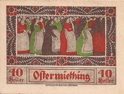 40 Heller (Ostermiething) – avers