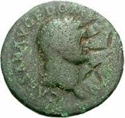 42 nummi (contremarque; as de Domitien, 81-96) – avers