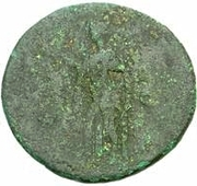 42 nummi (contremarque; as de Domitien, 81-96) – revers