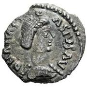 ½ silique Teias / Au nom d'Anastase I, 491-518 (Ticinum) – avers