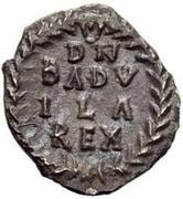 ¼ silique Baduila / Au nom d'Anastase I, 491-518 (Ticinum) – revers