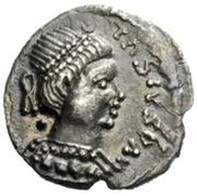 ½ silique Baduila / Au nom d'Anastase I, 491-518 (Ticinum) -  avers